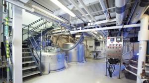 Photo 2:Large-scale fermentation room