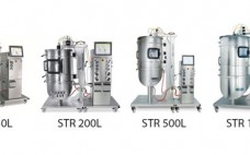 Figure 1: ambr250, UniVessel SU, and BIOSTAT STR family; working volume ranges from 250 mL to 2000 L