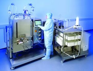 Photo 1: Pall Allegro STR bioreactor