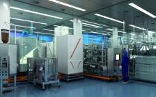 Modern hybrid single-use facility (purification suite)