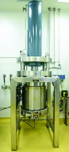 Photo 2: Novasep high-performance liquid chromatography column