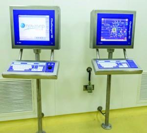 Photo 1: Chromatography automation system