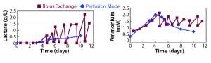 Figure 3: Requirement of optimal medium feeding (Example 1)