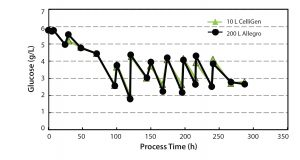 Figure 8: Glucose concentration profile