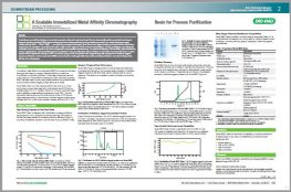 A Scalable Immobilized Metal Affinity Chromatography Resin for Process Purification